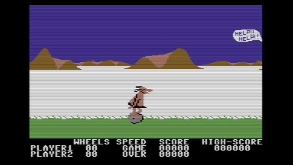 """Spielszene aus""""BC's Quest for Tires"""""""