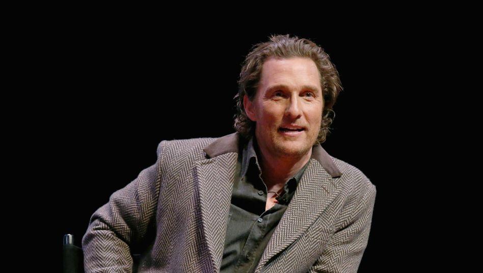 Matthew McConaughey (Archivbild): Irgendwann Gouverneur von Texas?