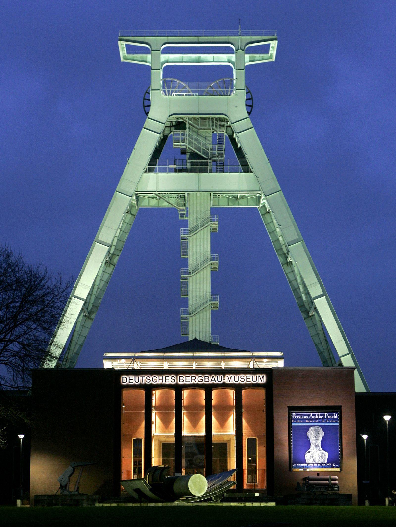 Bochum / Bergbaumuseum / Kohle