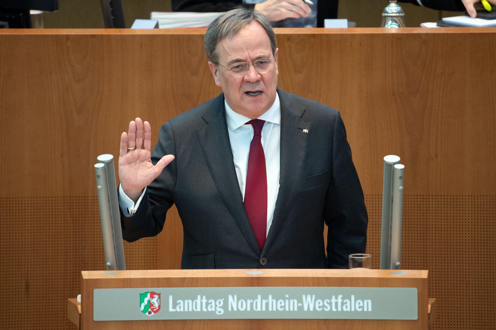Coronavirus - Landtag Nordrhein-Westfalen