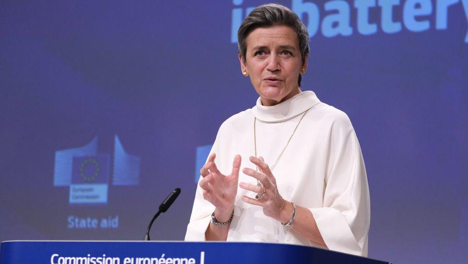 EU-Politikerin Vestager