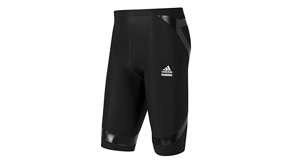 Adidas-Sportunterhose: Kompressionseffekt und TPU-Streifen