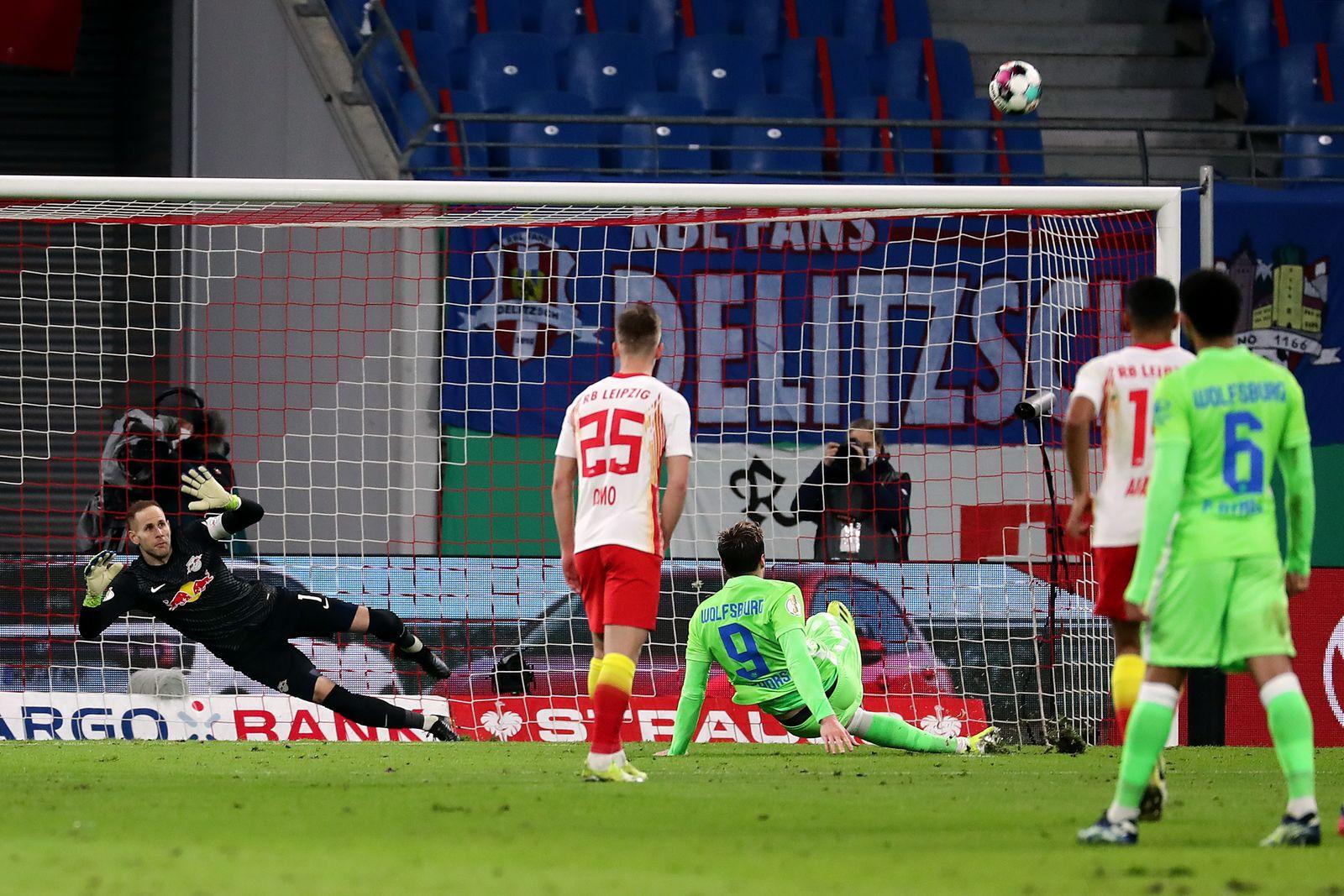 RB Leipzig v VfL Wolfsburg - DFB Cup: Quarter Final