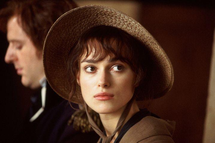 Keira Knightley als stolze, selbstbewusste Elizabeth Bennet