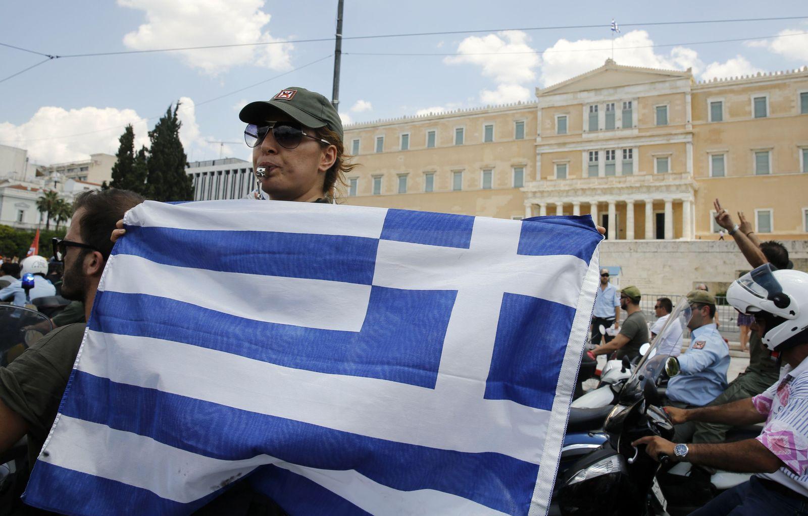 Proteste / Athen