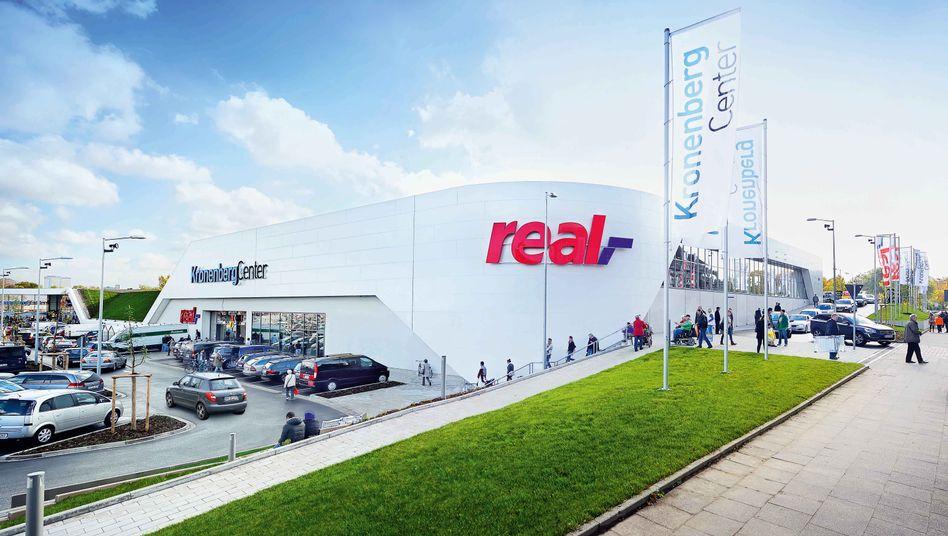 Real-Markt Kronenberg Center (Archiv): Die Metro führt exklusive Verhandlungen mit Redos