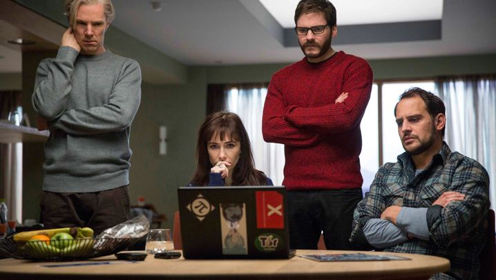 "Wikileaks-Film ""The Fifth Estate"": Picklig, bärtig, nerdig"