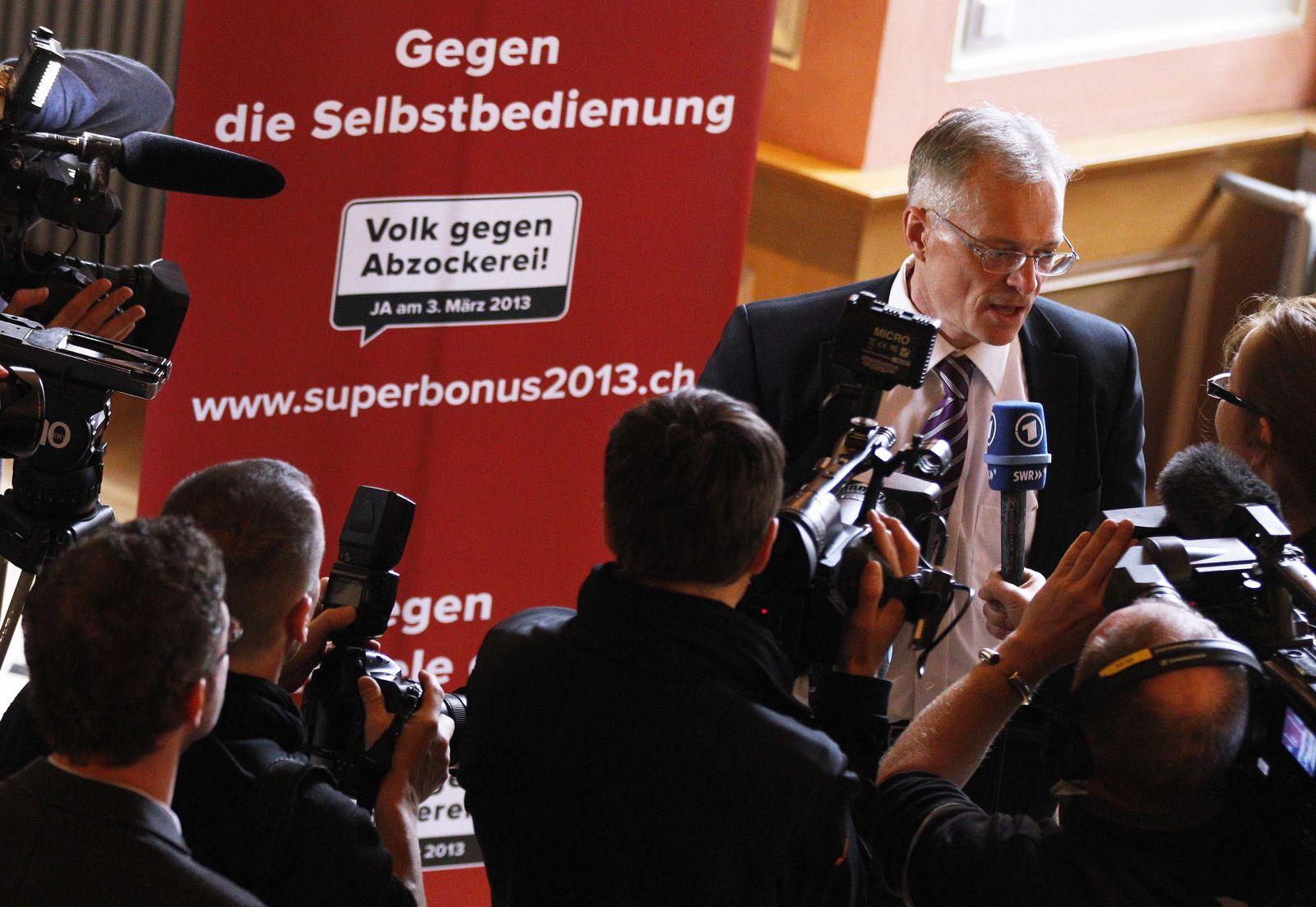 Schweiz Minder / Anti-Gier / Abzocker-Initiative
