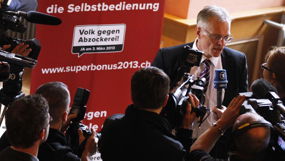 The Swiss voted in favor of Thomas Minden's plans to impose some of the world's strictest controls on executive pay.
