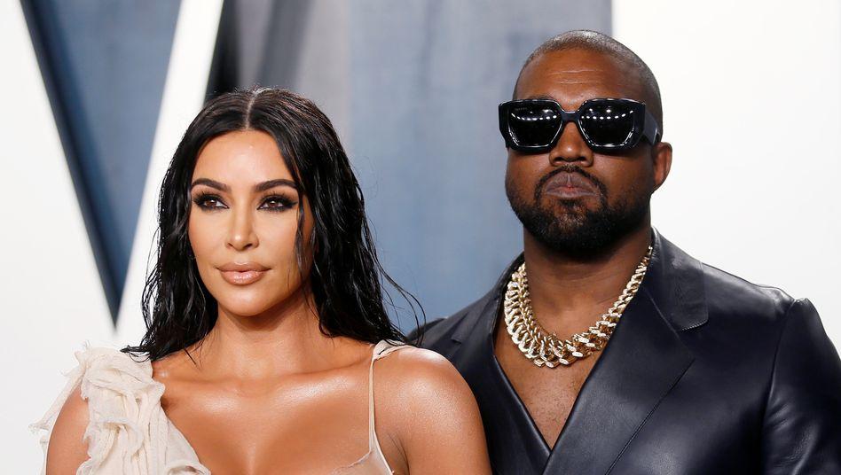 """Kim Kardashian mit Ehemann Kanye West: """"Ich kann nicht zusehen"""""""