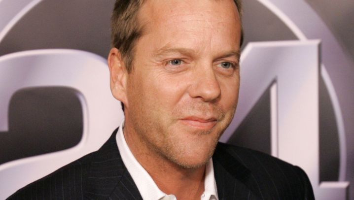 "Unters Messer: ""24""-Star Kiefer Sutherland in der Klinik"