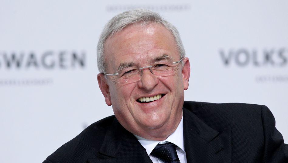 VW-Chef Winterkorn: 20 Millionen Euro Vergütung hält er für nicht vermittelbar