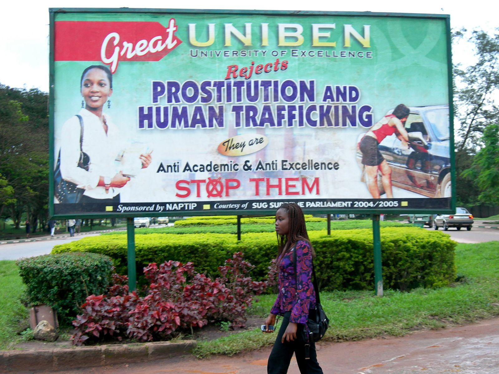 Nigeria/ Menschenhandel/ Prostitution