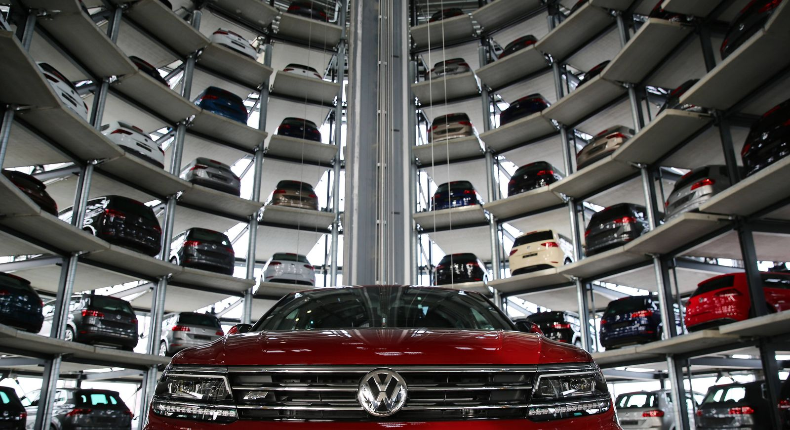 EINMALIGE VERWENDUNG VW Werk Wolfsburg