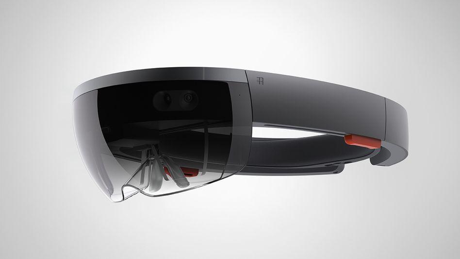 Microsoft HoloLens: Holografischer Computer auf der Nase