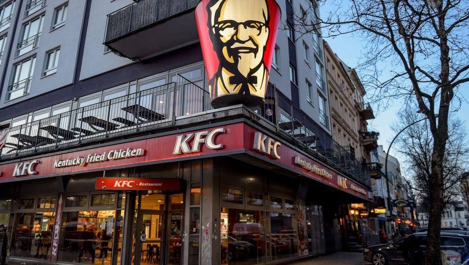 KFC-Filiale in Hamburg
