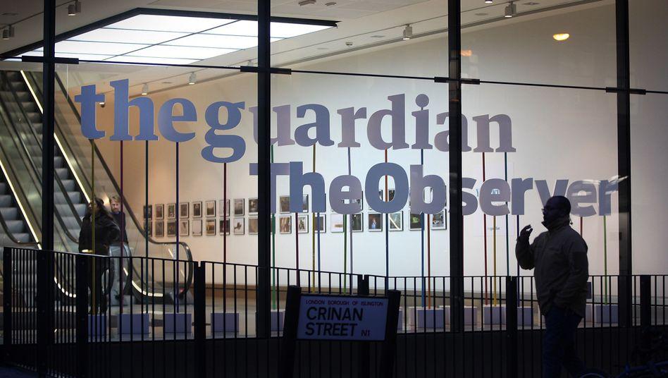 """""""Guardian""""-Zentrale in London: """"Ihr hattet euren Spaß. Nun wollen wir das Zeug zurück"""""""