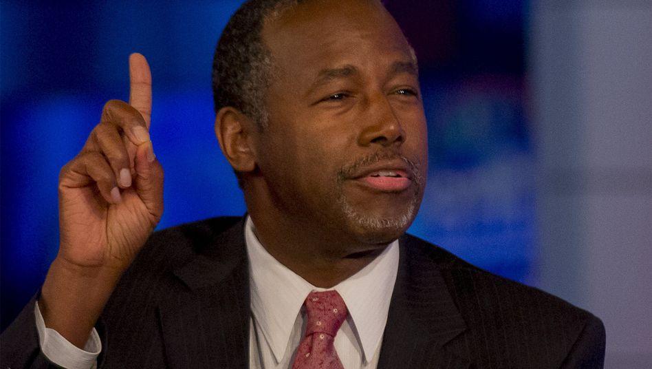 """US-Präsidentschaftsbewerber Carson: """"Historisch ungenau"""""""