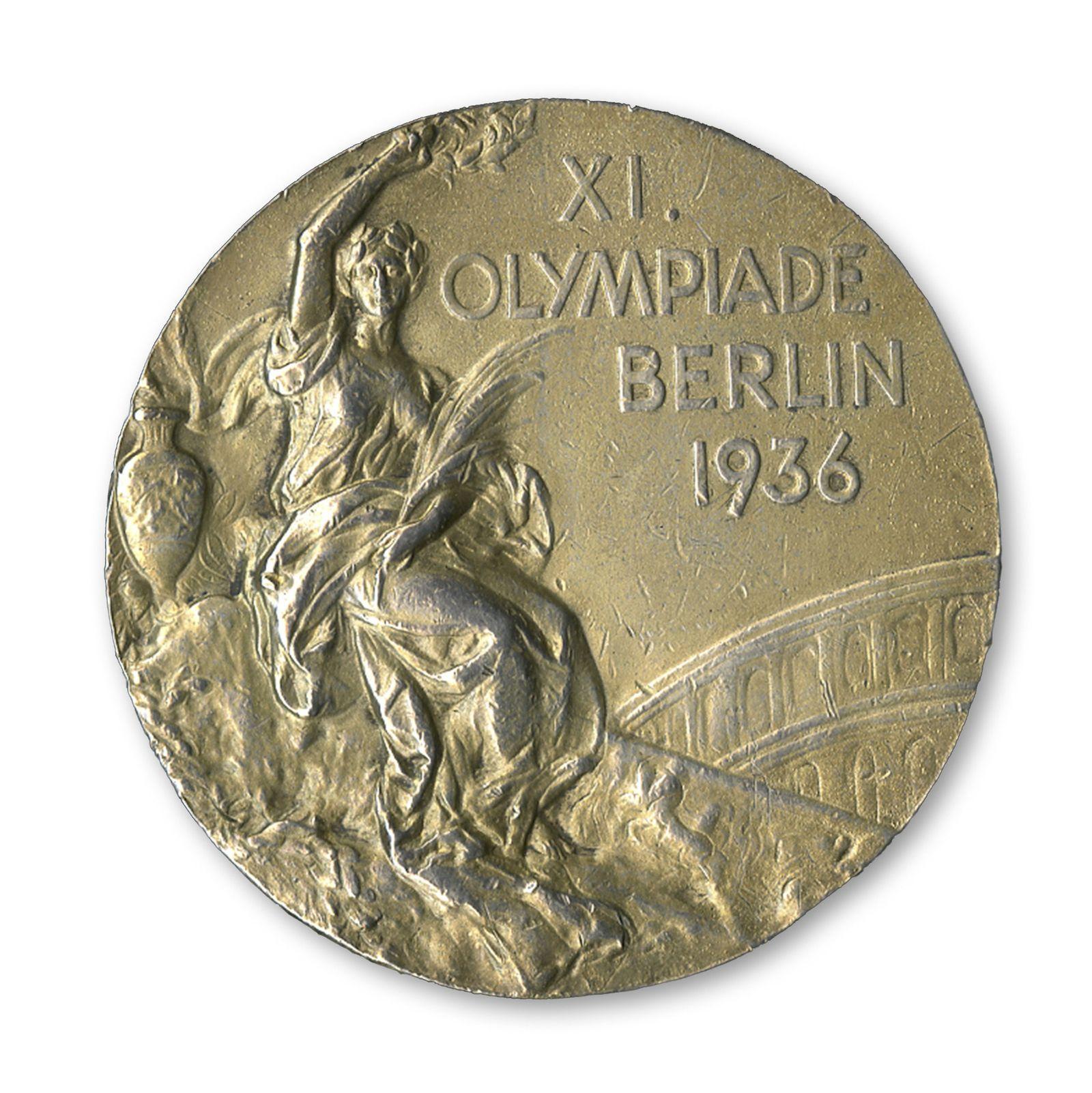 Jesse Owens / Goldmedaille