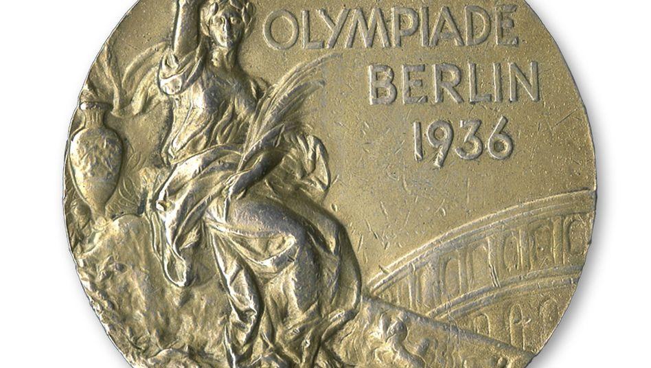 Goldmedaille von Jesse Owens