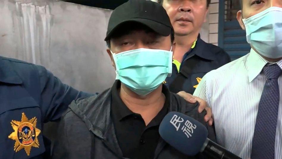 Fahrzeugfahrer Lee Li-hsiang: »Ich werde die Verantwortung übernehmen«