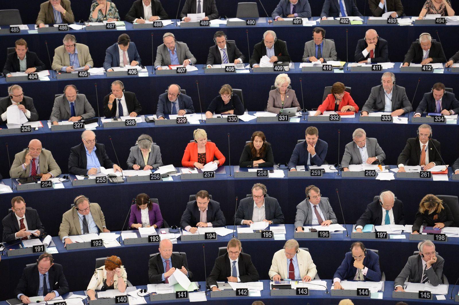 EU Parlament in Straßburg