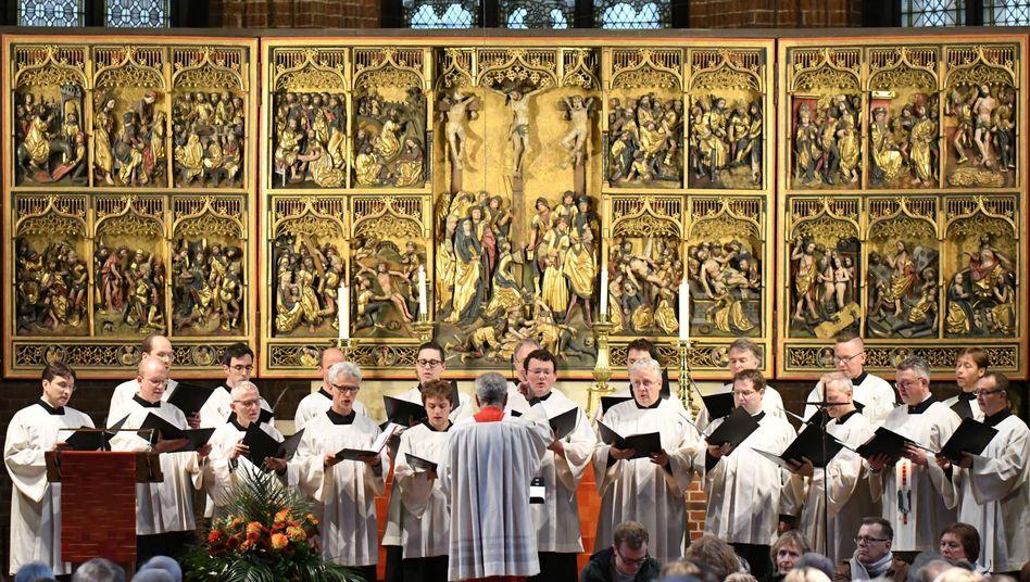 Gottesdienst in der Marktkirche in Hannover (Archiv)