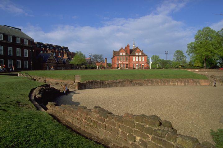 Römisches Amphitheater in Chester: