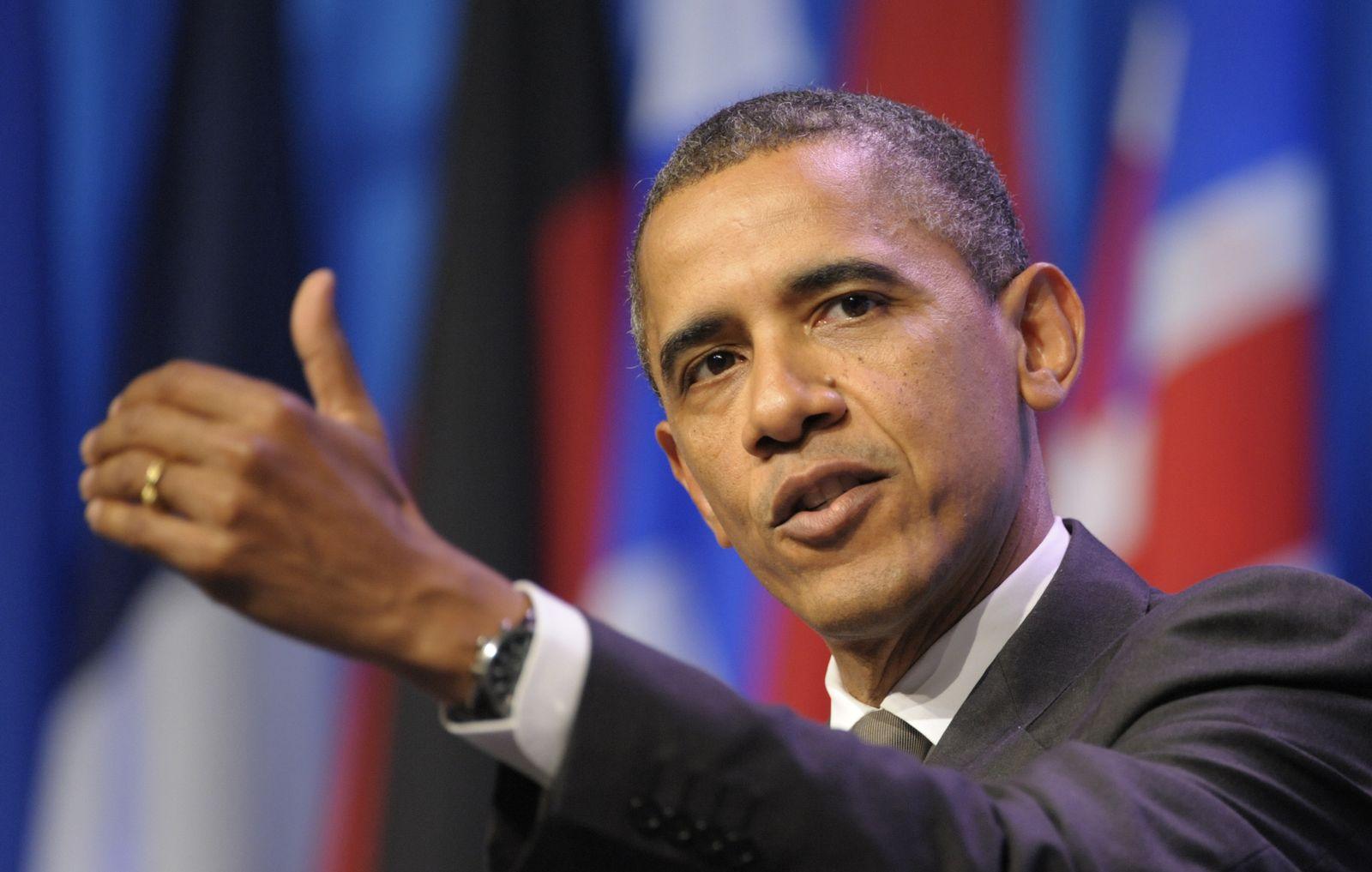 NICHT VERWENDEN Obama / Nato-Gipfeltreffen