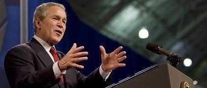 US-Präsident Bush: Traum von Georgien und Ukraine in der Nato