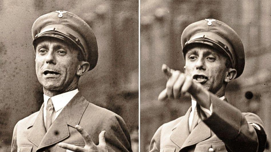 Nationalsozialist Joseph Goebbels im Berliner Lustgarten 1934