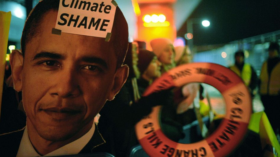 The debacle of Copenhagen is also Barack Obama's debacle.