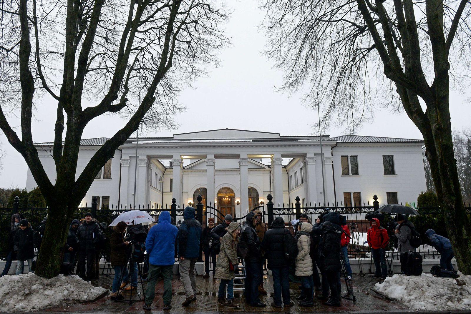 Minsk Präsidentenpalast