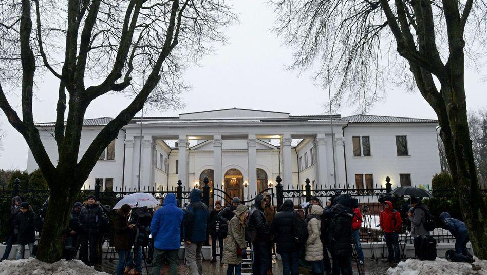 Präsidentenpalast in Minsk: Verhandlung gescheitert