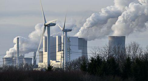 Das Kraftwerk in Niederaußem.