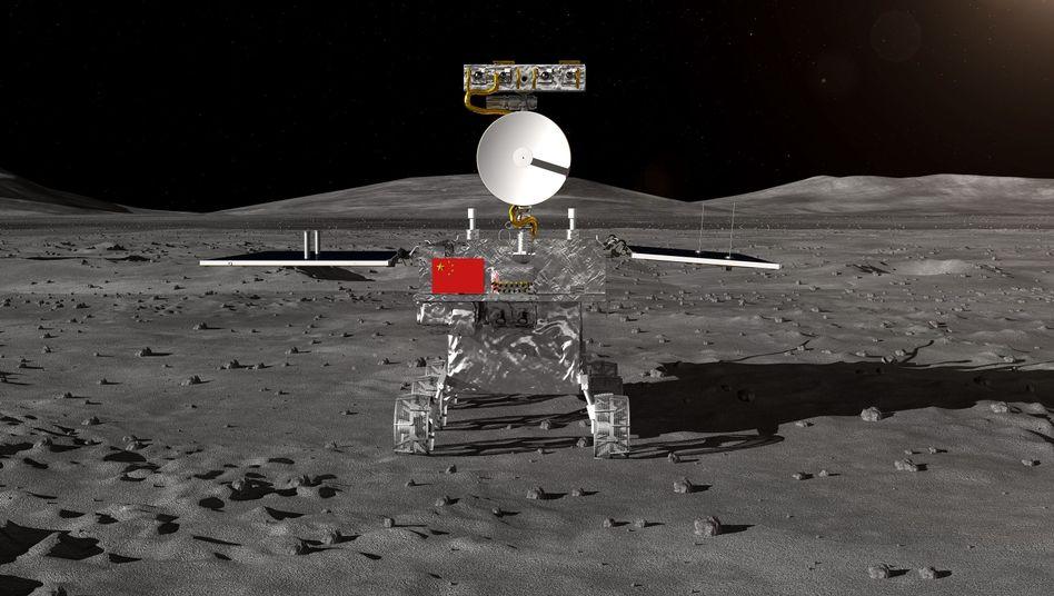 Rover der chinesischen Mondsonde Chang'e 4