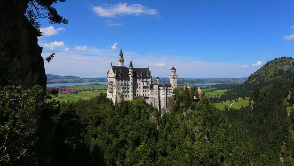 Das Schloss Neuschwanstein gehört dem Freistaat Bayern