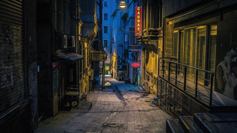 Gasse im Stadtteil Beyoğlu