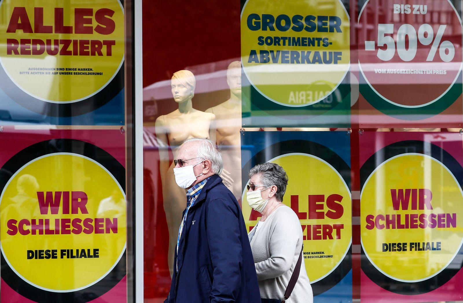 Germany Economy Karstadt