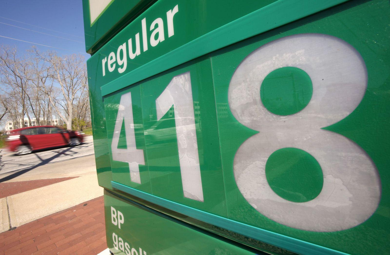 Tankstelle in Ohio