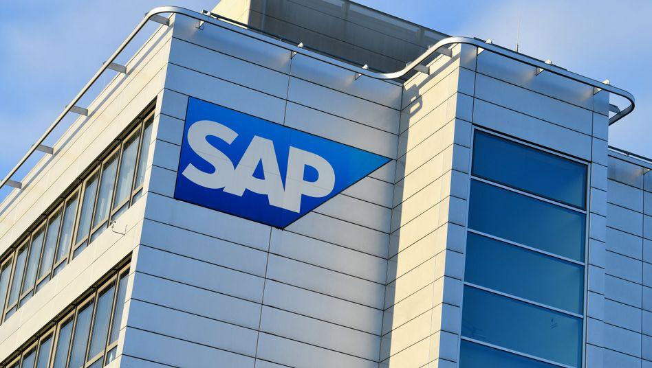 Zentrale des Softwarekonzerns SAP in Walldorf