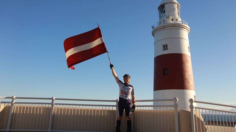 Inline-Skater Karlis Bardelis: 6200 Kilometer in 60 Tagen