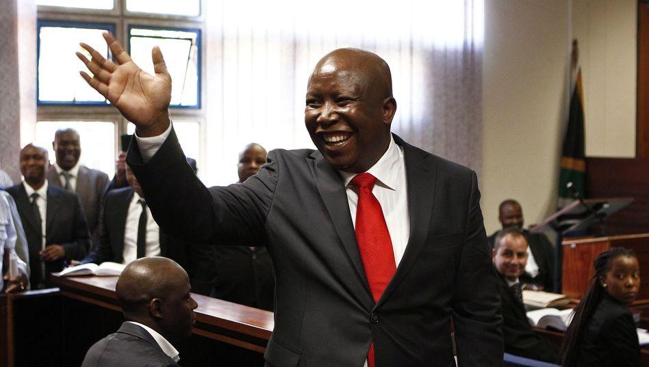 Malema im Gericht: Anklage wegen Geldwäsche