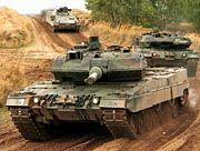 Bundeswehr-Panzer Leopard 2: Wuchtgeschosse mit Wolfram-Kern