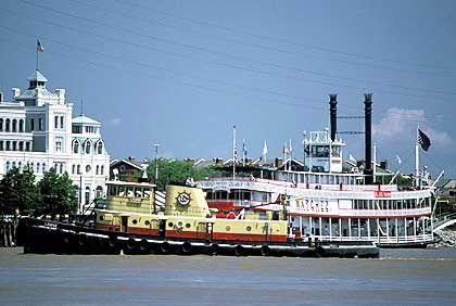 Raddampfer verkehren auf dem Mississippi nur noch für Touristen
