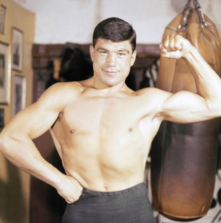Karl Mildenberger vor dem Kampf gegen Ali