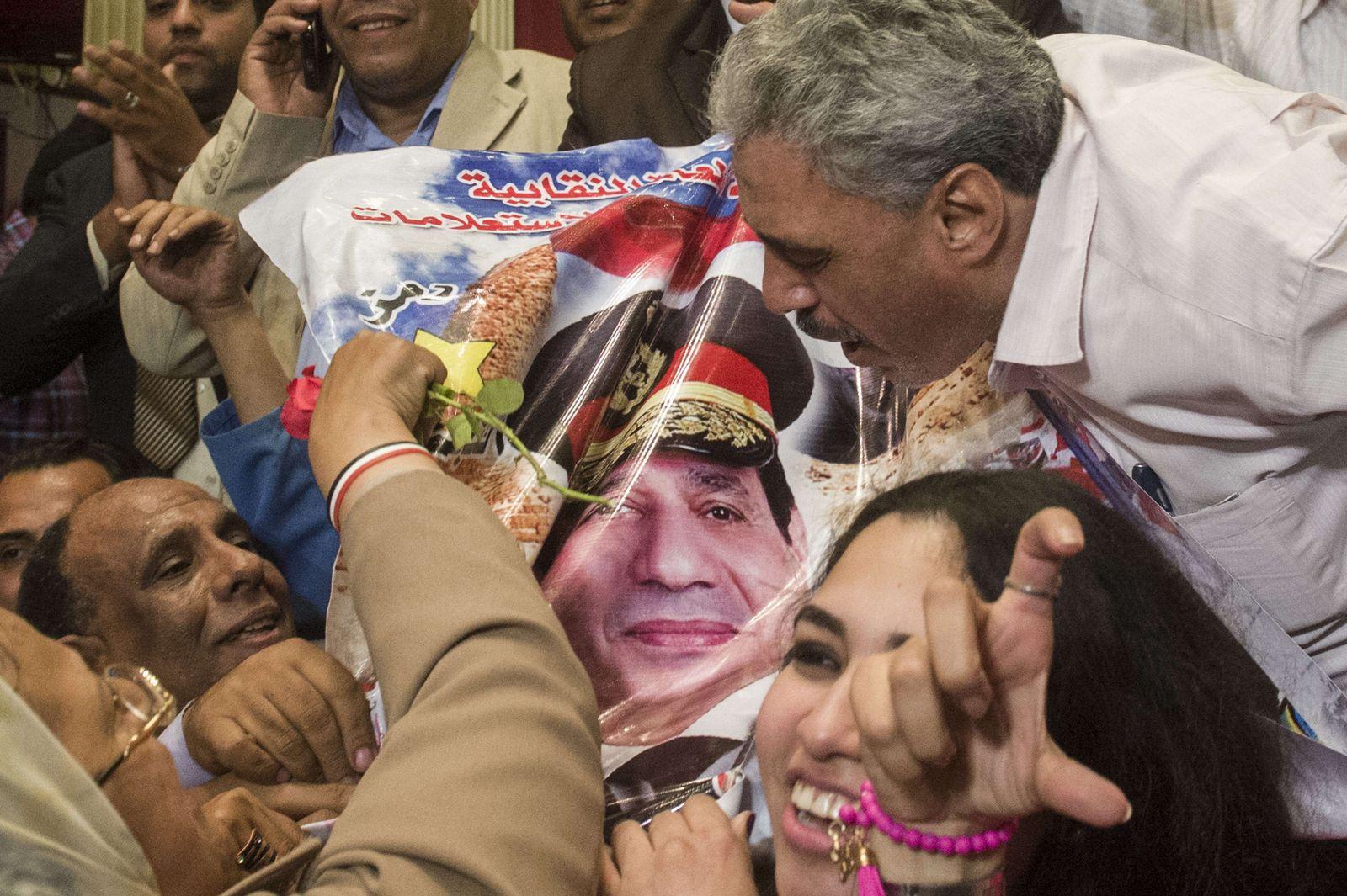 Ägypten: Jubel beim Wahlergebnis