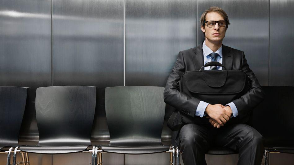 Auf Arbeitssuche: Vielen psychisch Kranken kann ein Job Halt geben