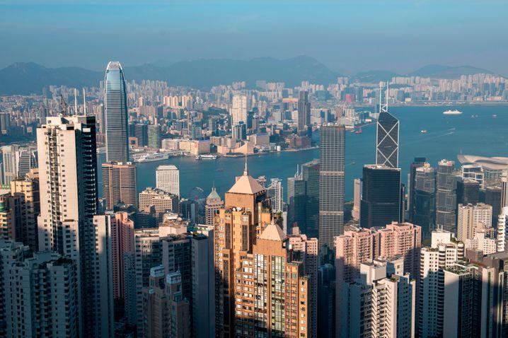 Skyline von Hongkong: 1300 Dollar für jeden Einwohner