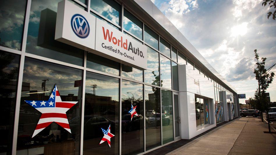 Volkswagen-Händler in Boston